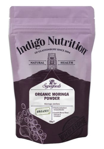 Organic Moringa Powder Cut Out