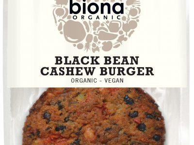 Biona Black Bean Cashew Burger